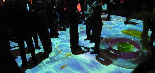 suelo tactil interactivo